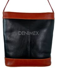 Kožená kabelka - vak MO20