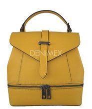 Kožená kabelka - batoh MA33